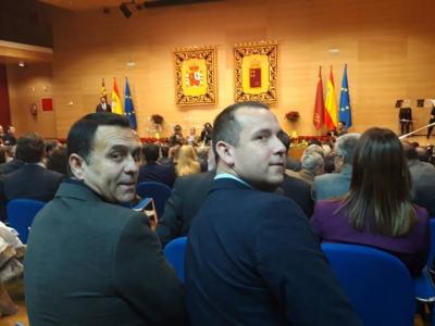Representación institucional del Ayuntamiento en el acto oficial celebrado por el Gobierno de la Región de Murcia con motivo del 40 aniversario de la ConstituciónEspañola