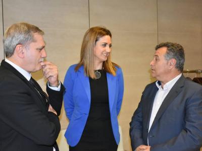La Alcaldesa asiste al acto de clausura de la asambleade Agrupal Murcia, Agrupación de Empresas de Alimentación