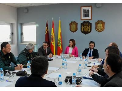 La Alcaldesa exige a la Delegación del Gobierno la inminente reposición de agentes de la Guardia Civil del puesto de Archena