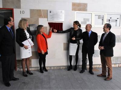 La Alcaldesa y la Vicerrectora de la Universidad de Murcia, Alicia Rubio, inauguran la Sede Permanente de Extensión Universitaria de Archena