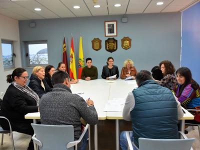 Firmado un convenio de colaboración con los representantes de las diferentes AMPAS de los colegios públicos e institutos de Archena