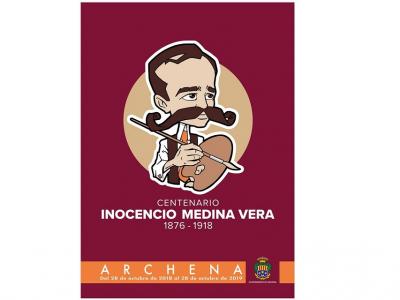 La Concejalía de Culturacomunica el aplazamiento de algunos actos de la programación delCentenariode Inocencio Medina Vera