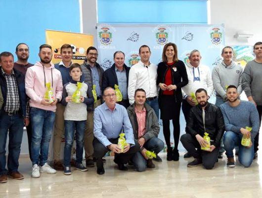 La Alcaldesa y el Concejal de Deportes felicitan a deportistas y clubes deportivos por los grandes logros alcanzados esta temporada