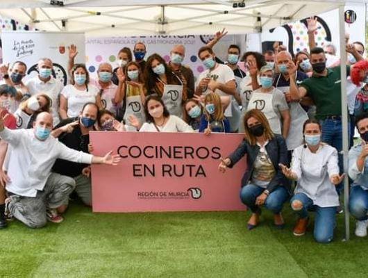 Archena fue sede de Cocineros en Ruta con motivo de la Región como capitalidad gastronómica