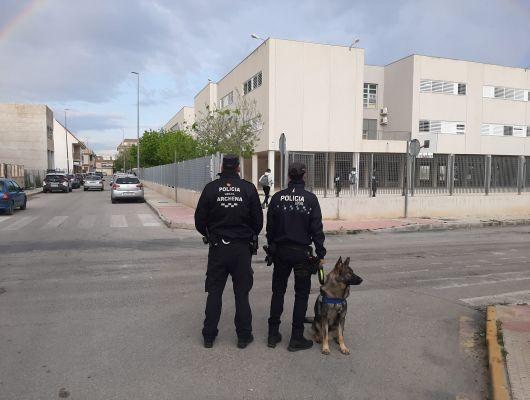 Finaliza en Archena otro curso formativo sobre la creación de Unidades Caninas para las Policías Locales de la Región Murciana