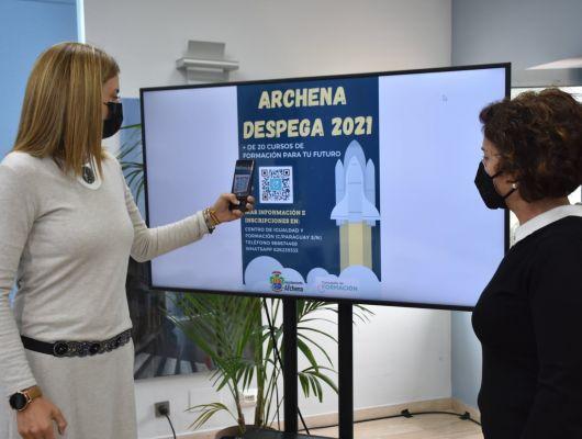 Los cursos de formación del programa 'Archena despega' pretenden dar respuesta a las necesidades de los ciudadanos en su búsqueda de empleo