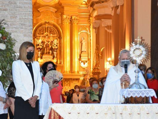 El Obispo de Cartagena ofició un año más la Solemne Misa del Corpus