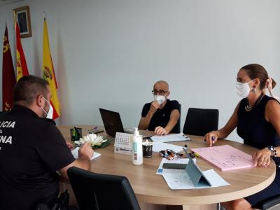La Policía Local de Archena visita y controla a diario el total de viviendas con casos positivos de coronavirus