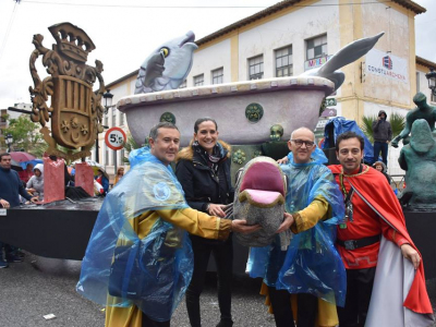 Archena aportará al desfile del Entierro de la Sardina una carroza con simbología relacionada con el trasvase Tajo-Segura y el Balneario de Archena