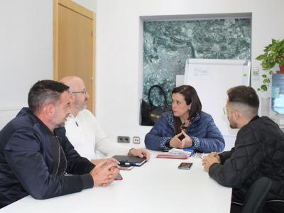 Reunión de la Concejala de Comercio y 'Archena Express' para dinamizar el comercio en Archena