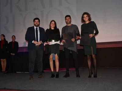 Alberto Gil y María José Guillén reciben el Premio Regional Especial de Arquitectura por su diseño del Vivero de Empresas de Archena