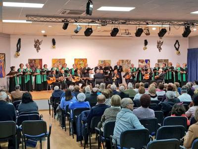 El V Recital de Villancicos organizado por el Ayuntamiento de Archena llena el Salón de Actos del Centro Cultural