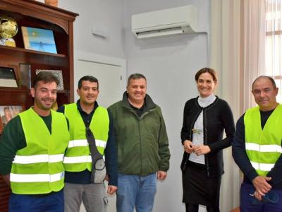 El Ayuntamiento refuerza las actuaciones de limpieza y mantenimiento del municipio con la incorporación de nuevos trabajadores