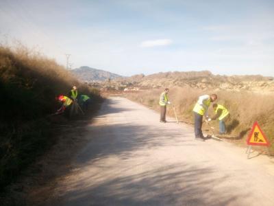 Comenzó la obra denominada 'Mejora de Caminos Rurales y Zonas Degradadas deArchena, Tratamiento de Escorrentías en el Monte Ope y Trabajos de Silvicultura en Paraje Natural del Canal de La Algaida