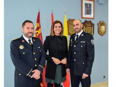 Toma de posesión de José Tomás López Bernal, nuevo agente de la Policía Local de Archena