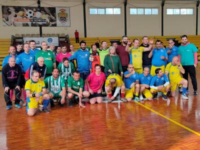 Archena, sede de la Liga de Fútbol Sala de Salud Mental de la Región de Murcia
