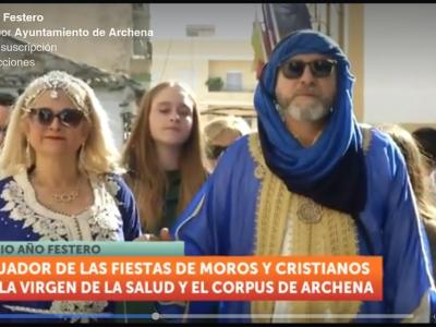 Los moros y cristianos de la Virgen de la Salud y el Corpus Christi celebran su medio año festero