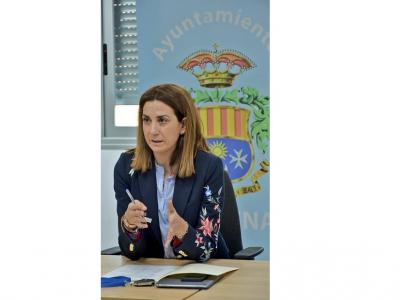 La Alcaldesa defiende la necesidad de un gran proyecto de modernización de regadíos, ante los representantes de la Comunidad de Regantes