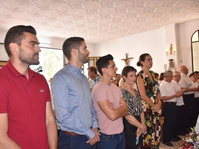 Misa solemne en honor a Santiago Apóstol para iniciar el día grande de las Fiestas Patronales de ElHurtado