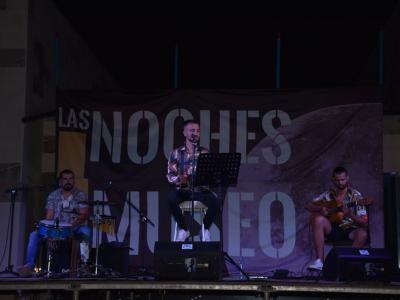 El flamenco-fusión del cantante murciano Mario Picón, protagonista en las 'Noches del Museo' de Archena