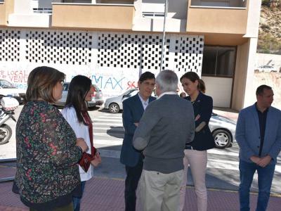 Visita de la Alcaldesa y el Consejero de Salud al Centro de Salud 'Mario Spreáfico'