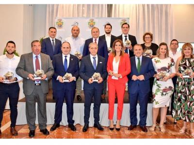 Relación de galardonados en la II Cena-Gala del Comercio organizada por el Ayuntamiento deArchena. Incluye vídeo de 7 TV Región de Murcia