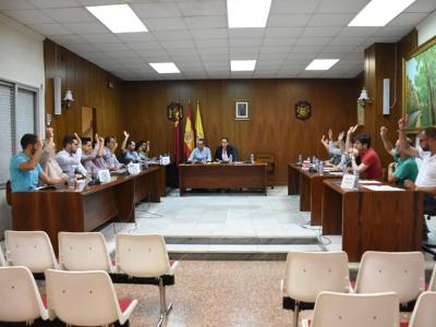 El Ayuntamiento de Archena aprueba solicitar la declaración de Zona Catastrófica para el municipio por las últimas lluvias. Incluye vídeo del Pleno Extraordinario