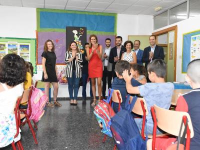 La Consejera de Educación y la Alcaldesa de Archena inauguran el curso académico 2019/20 en el Centro de educación infantil y primaria Ntra. Señora de La Fuensanta