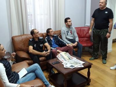 Reunión urgente convocada por la Alcaldesa con el comité asesor del Plan Municipal de Emergencias