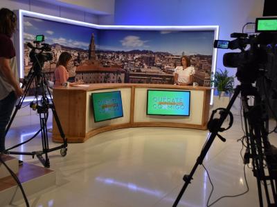 La Alcaldesa explica en 7tv las últimas campañas municipales de prevención de la Covid-19