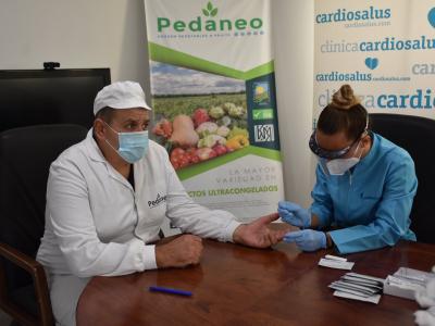 Iniciada la campaña de test masivos a trabajadores del sector agrícola