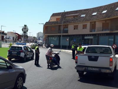 La Policía Local de Archena sanciona a cuatro locales por incumplimiento de las normas anticovid19