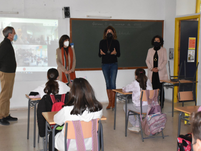 Charlas de sensibilización de igualdad en los centros de enseñanza del municipio dentro de la XXXI Semana de la Mujer
