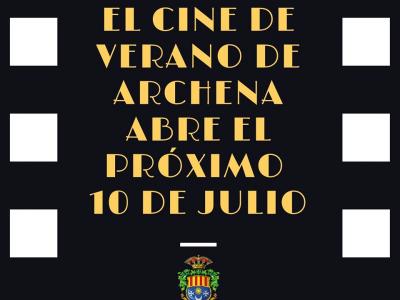 Archena tendrá cine de verano también este 2020